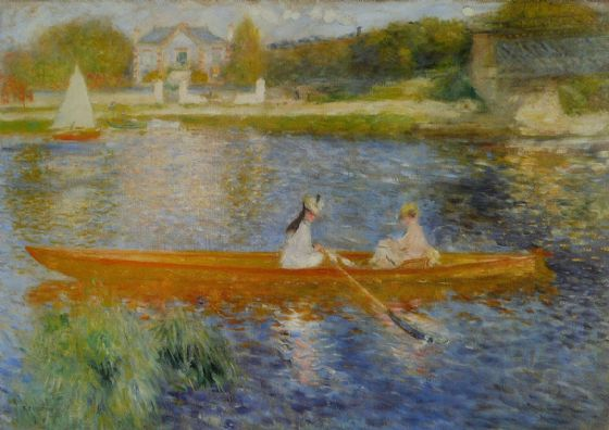 Renoir, Pierre Auguste: The Yole. Fine Art Print/Poster. Sizes: A4/A3/A2/A1 (004281)